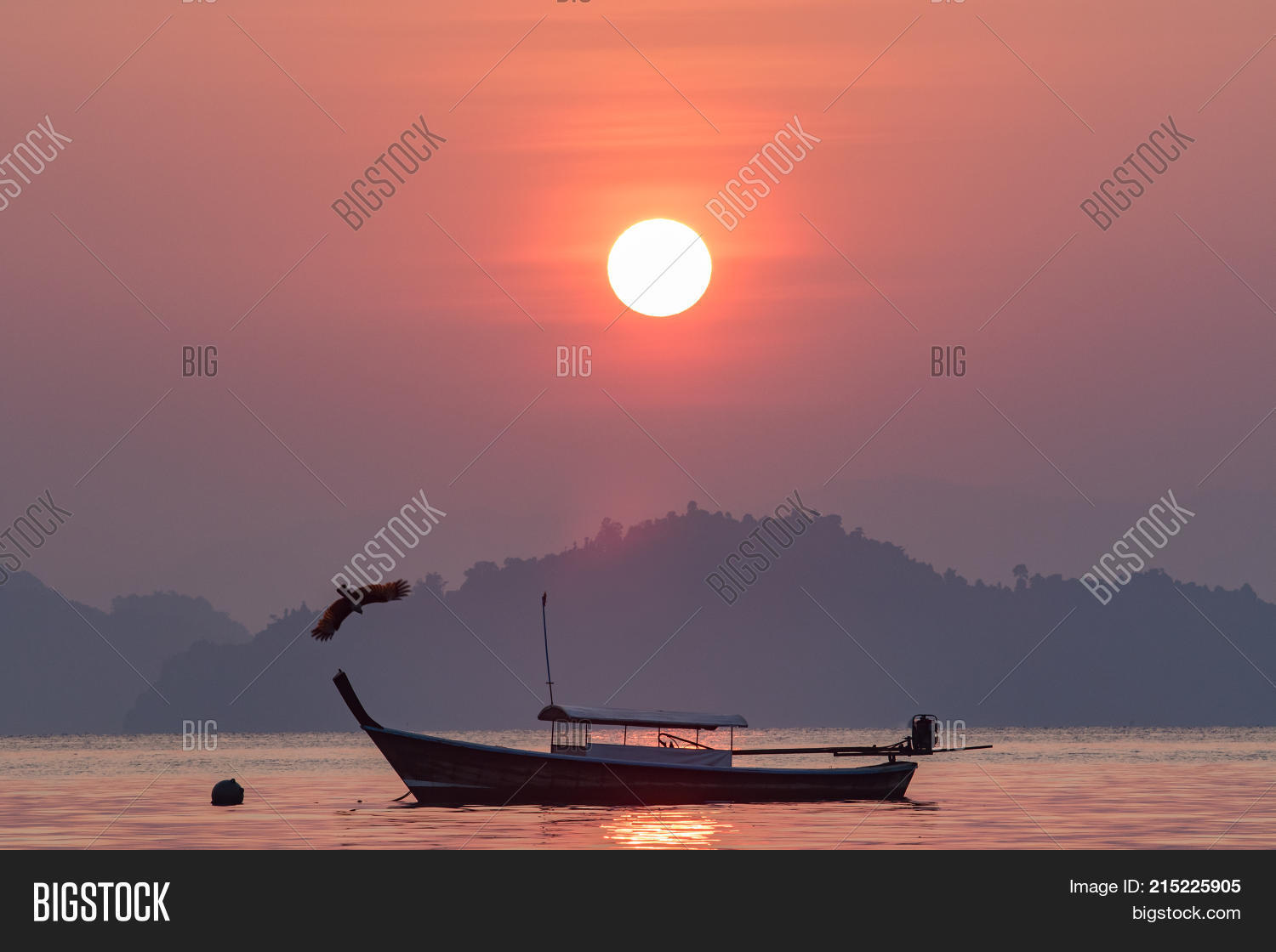 Beautiful Sun Rising Image Photo Free Trial Bigstock