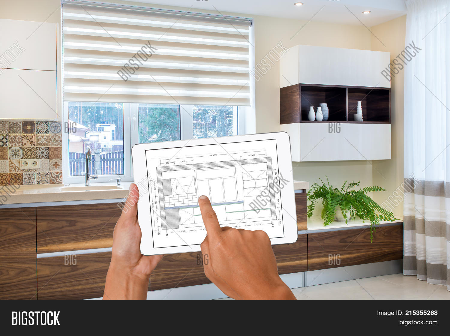 Hands Holding Tablet Image Photo Free Trial Bigstock