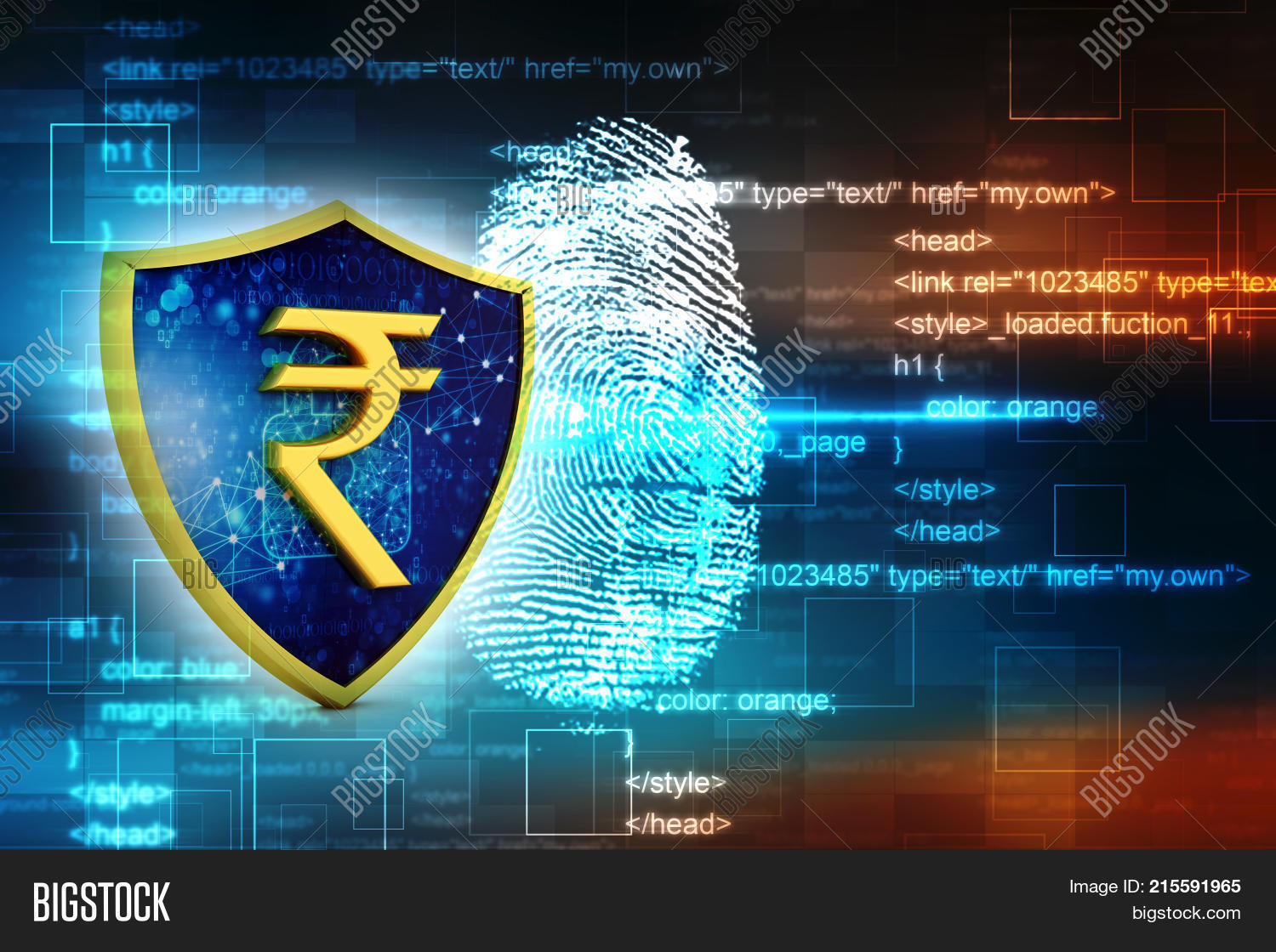 Indian Rupee Symbol On Image Photo Free Trial Bigstock