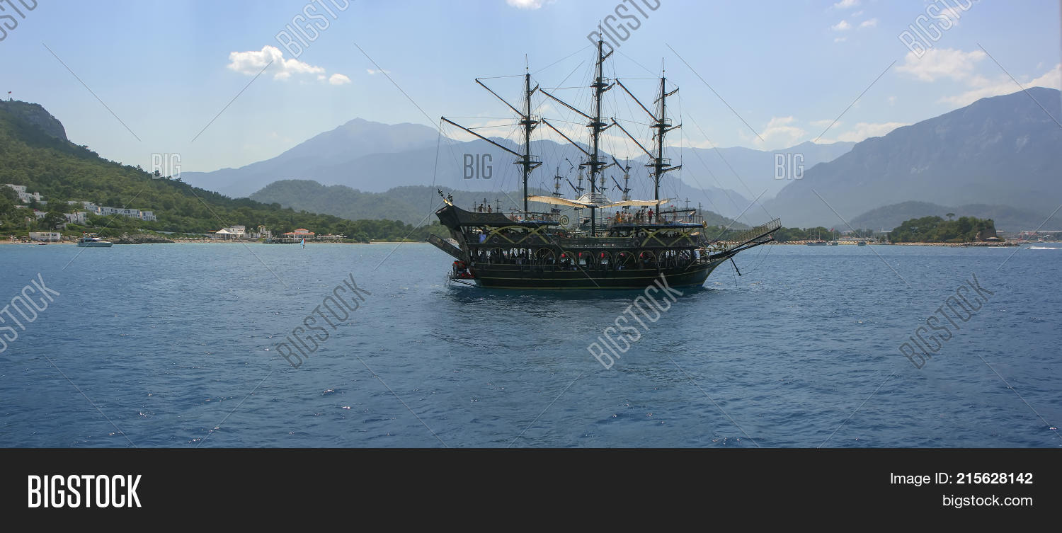 Pirate Ship Dock  Image & Photo (Free Trial) | Bigstock