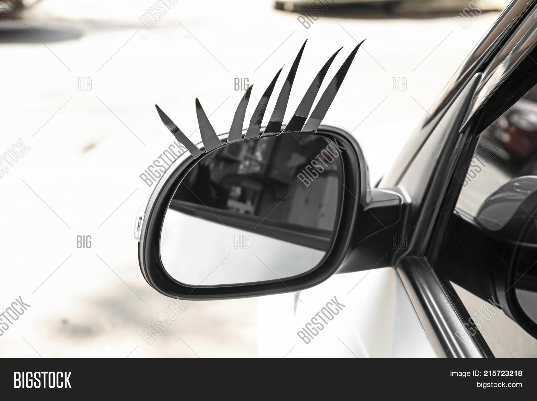 Car Eyelashes On Side Image Photo Free Trial Bigstock
