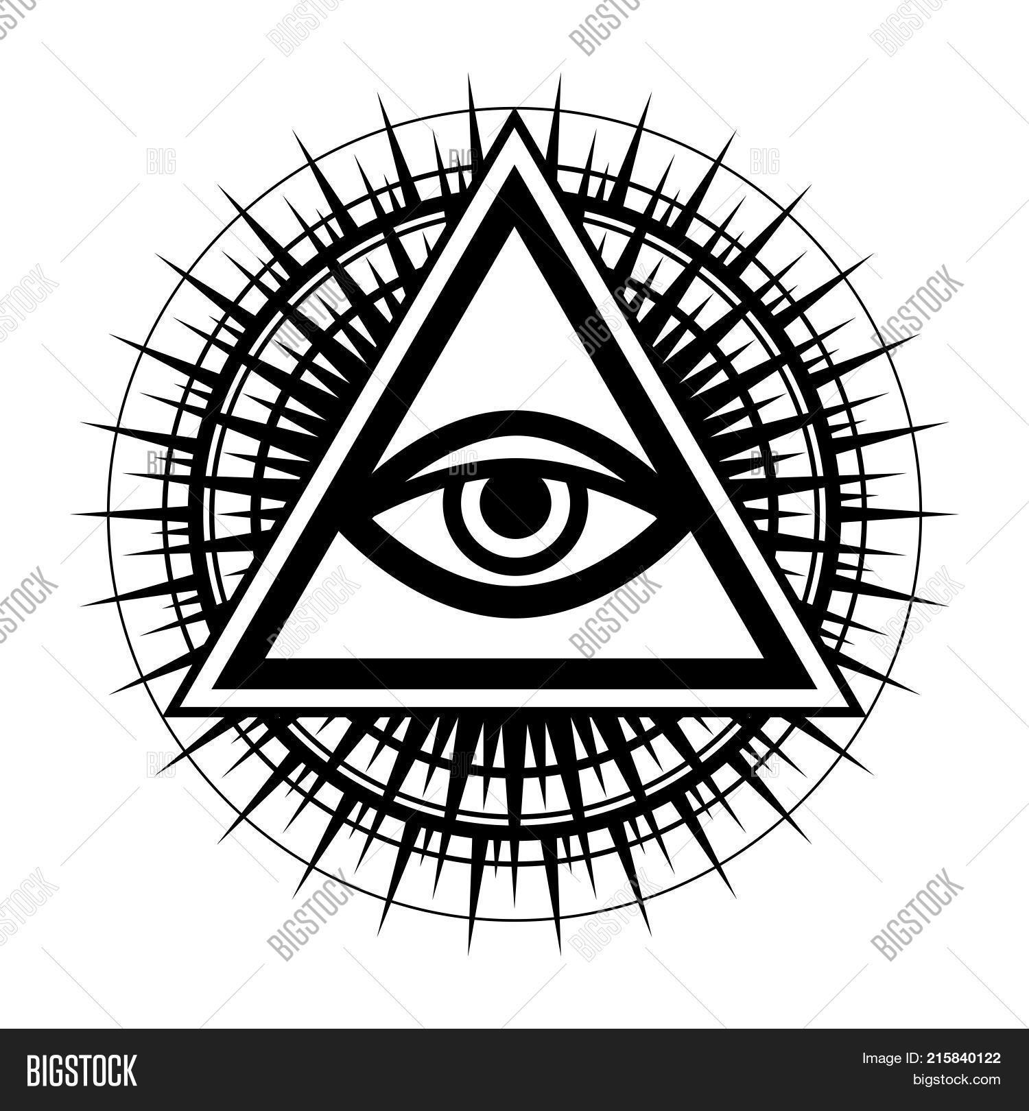 All Seeing Eye God Vector Photo Free Trial Bigstock