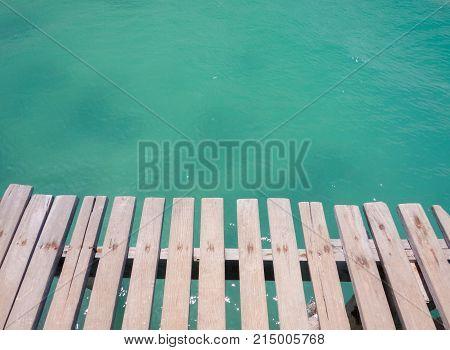 The Bridge in sea at Samed Island