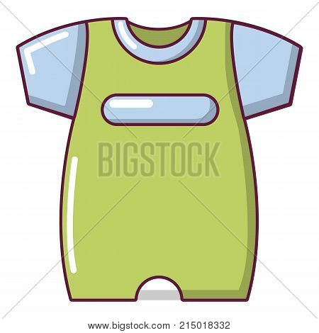 Children slider icon. Cartoon illustration of children slider vector icon for web