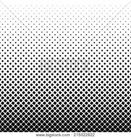 Halftone square dot vector texture. Halftone pattern tone background.