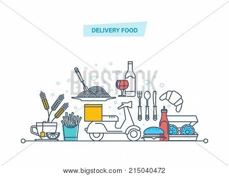 Delivery Services Vector & Photo (Free Trial) | Bigstock