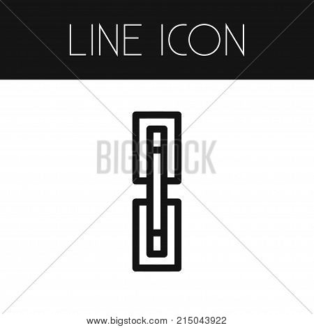 Bind Vector Element Can Be Used For Hyperlink, Bind, Link Design Concept.  Isolated Hyperlink Outline.