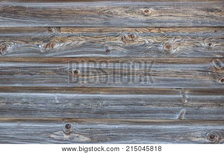 Natural weathered old wood plank texture background.