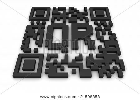 Qr-code With Letters
