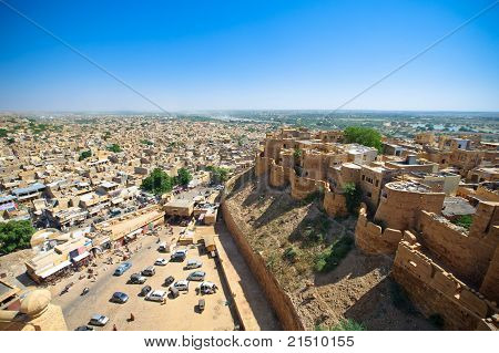 Jaisalmer City and Fort