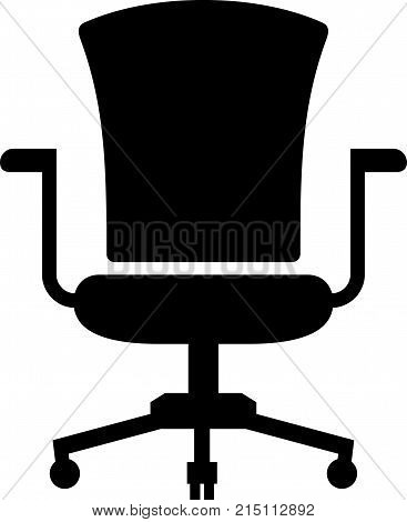 Office chair or a task chair, shade picture