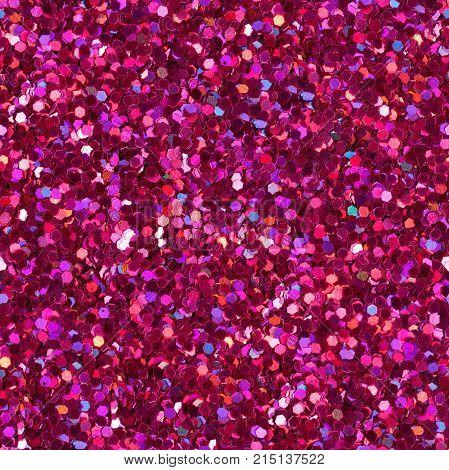 Crimson shiny background. Seamless square texture. High resolution photo.