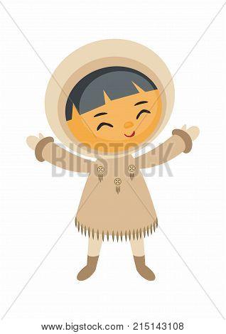 Cute Eskimo Boy.eps
