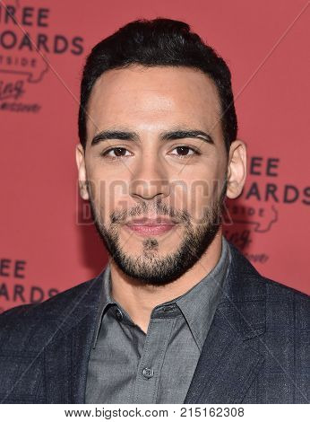 LOS ANGELES - NOV 03:  Victor Rasuk arrives for the