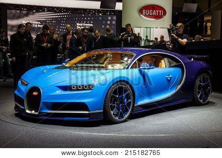2016 Bugatti Chiron Sports Car