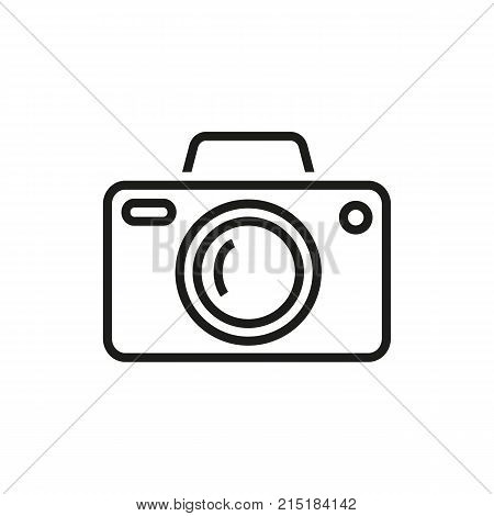 Photo camera. Photograph, digital equipment, modern technology. Photography concept. Can be used for topics like picturing, media, photo shoot.