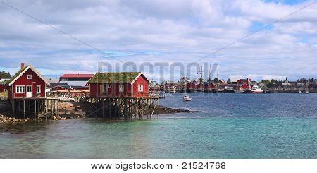 Rorbu Cabins in Reine, Norway