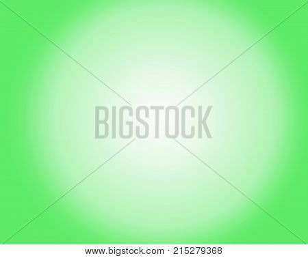 greenish and white gradient on the white background