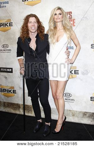 LOS ANGELES - JUN 5: Shaun White and Marisa Miller at the Spike TV's 4th Annual