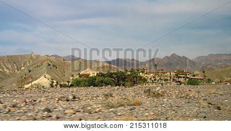 Furnace Creek Inn at Death Valley National Park