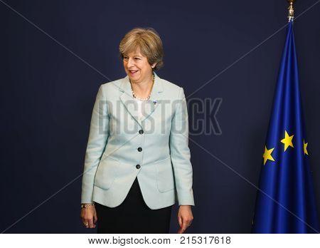 British Prime Minister Teresa May