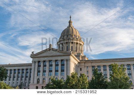 Oklahoma Capitol Building in Oklahoma City OK