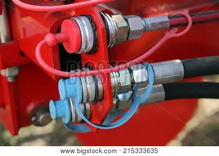 The Hydraulic hoses with lids, technical background