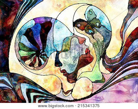 Color Division Composition