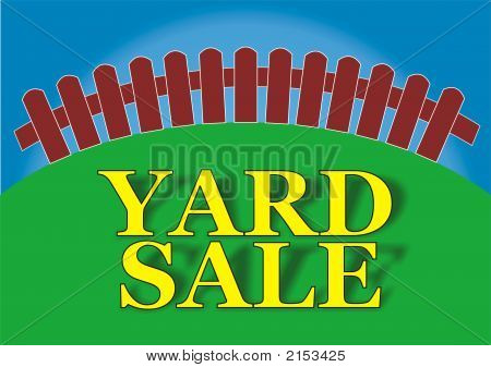 Yard Sale Yellow