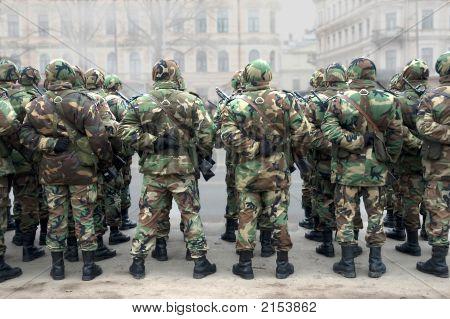 Parade Of Armies