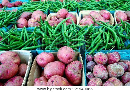 Farm Market Vegetables