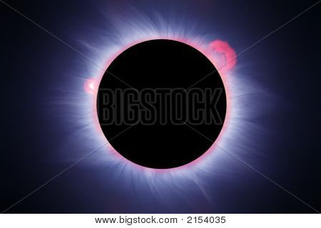 Ideal Solar Eclipse