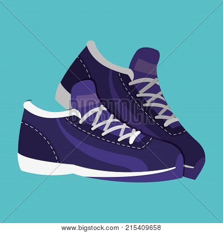 sneakert fashion object to play tennis vector illustration