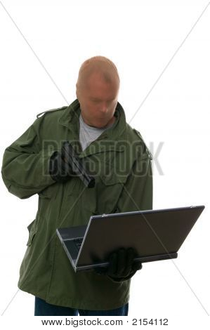 Internet Bank Robber.