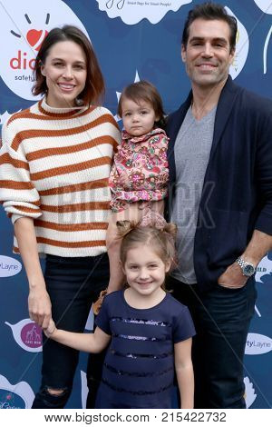 LOS ANGELES - NOV 19:  Kaitlin Vilasuso, Everly Maeve Vilasuso, Riley Grace Vilasuso, Jordi Vilasuso at A Day of Thanks & Giving at Garland Hotel on November 19, 2017 in North Hollywood, CA