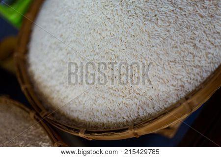 Thai White Pealed Jasmin Rice