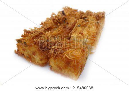 Fried Flour Vermicelli Steamed Cake