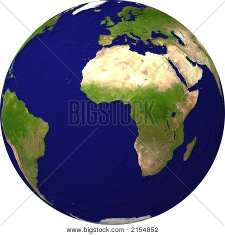 Planet Earth From Satellite