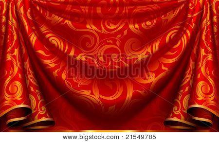 Curtain pattern, bitmap copy