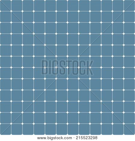 Abstract seamless pattern background with rounded corner squares. Vector background.