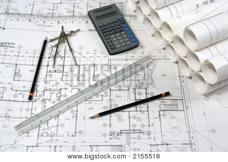Engineering And Architecture Drawings