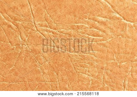Brown Leather Texture Background Abstract Vintage Cow Skin Backdrop Design