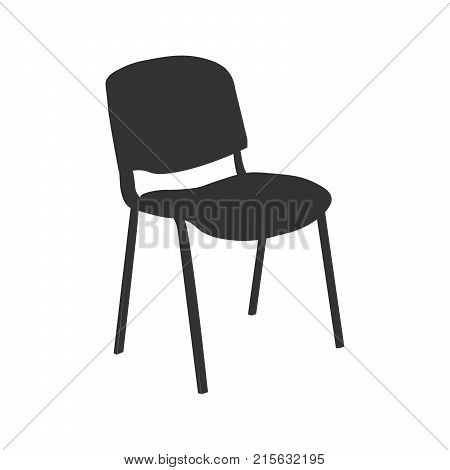 Chair icon vector illustration isolated. EPS