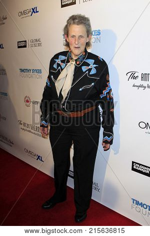 LOS ANGELES - NOV 11:  Dr Temple Grandin at the 2017 D.R.E.A.M. Gala at the Montage Hotel on November 11, 2017 in Beverly Hills, CA