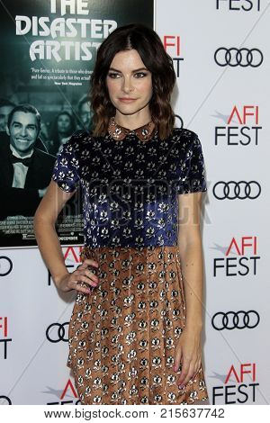 LOS ANGELES - NOV 12:  Kelly Oxford at the AFI FEST 2017