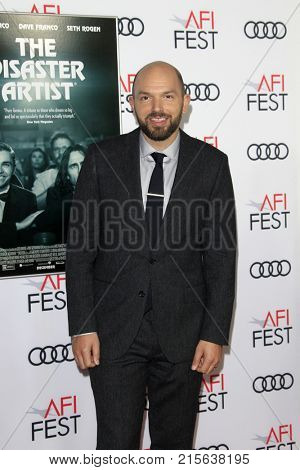 LOS ANGELES - NOV 12:  Paul Scheer at the AFI FEST 2017