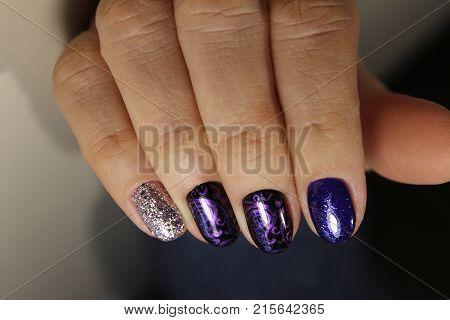 Beautiful Nail Art Manicure