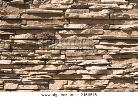 Artificial Stone Wall