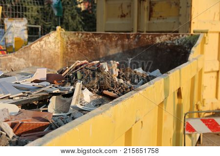 Old Building Materials And Mortars And Waste From Construction S