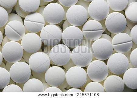 White Pill tablet background for the design backdrop in your work.